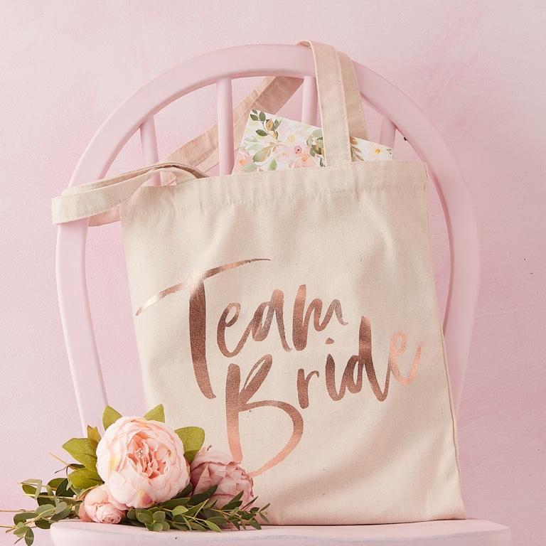 Textilná Taška - Team Bride - Obrázok č. 1