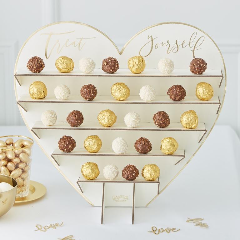 Stojan na Čokoládu - Treat Yourself - Zlatá - Obrázok č. 1