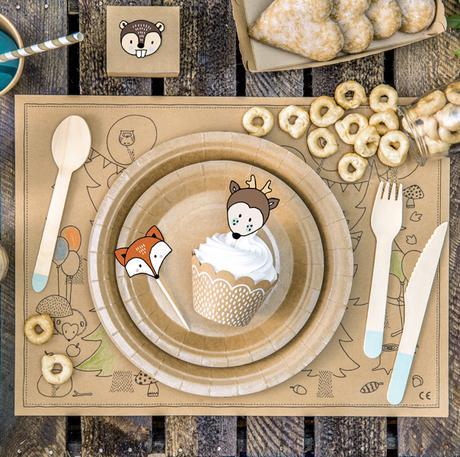 Obaly nu Muffiny + Ozdoby - Set - Zvieratká (6ks) - Obrázok č. 1