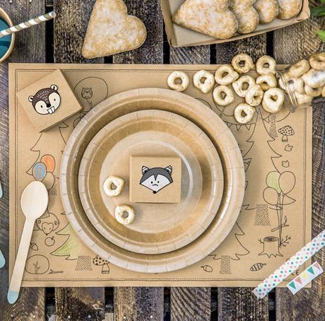 Krabičky - Zvieratká - Hnedá (6ks) - Obrázok č. 1
