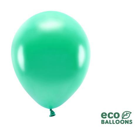 Eko Balóny - Metalická Zelená - 26 cm (20ks) - Obrázok č. 1