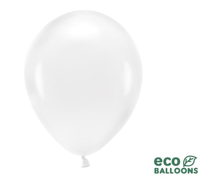 Eko Balóny - Priehľadná - 30 cm (20ks) - Obrázok č. 1