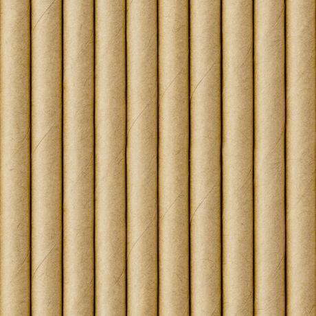 Papierové Slamky - Prírodná Hnedá (10ks) - Obrázok č. 1