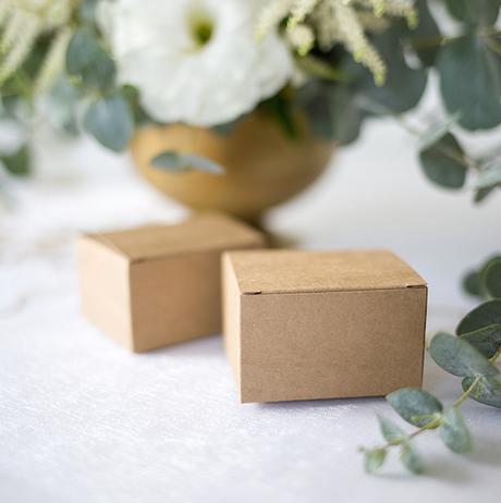 Krabička - Hnedá (10ks) - Obrázok č. 1