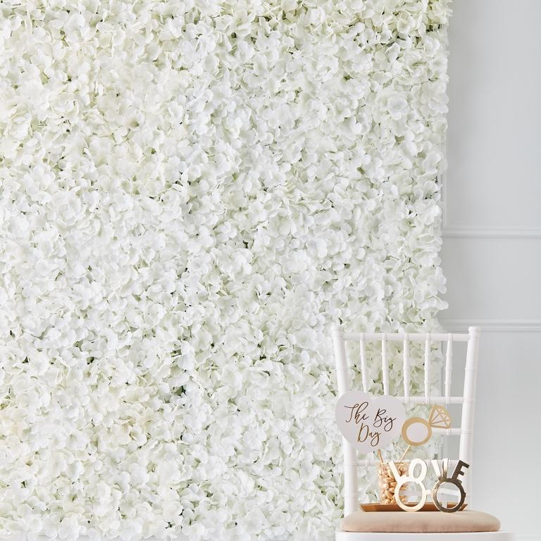 Kvetinová Dekorácia na Stenu (63 cm x 45 cm) - Obrázok č. 1