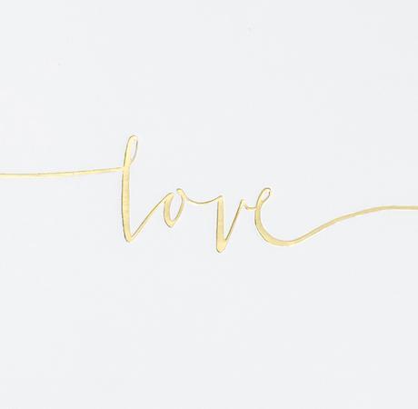 Kniha pre Hostí - Love - Biela a Zlato - Obrázok č. 2