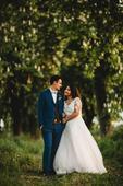 Svadobné šaty šité na mieru, 40