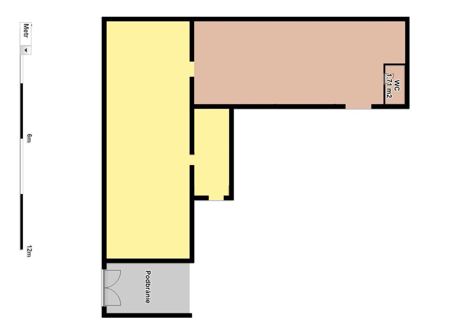 Náš budúci domov - rekonštrukcia rodinného domu - Aktuálny stav - priečky zbúrané, ešte zostalo WC, to na koniec :)