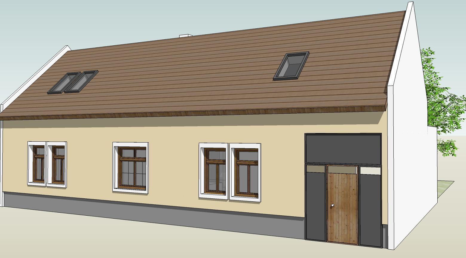 Náš budúci domov - rekonštrukcia rodinného domu