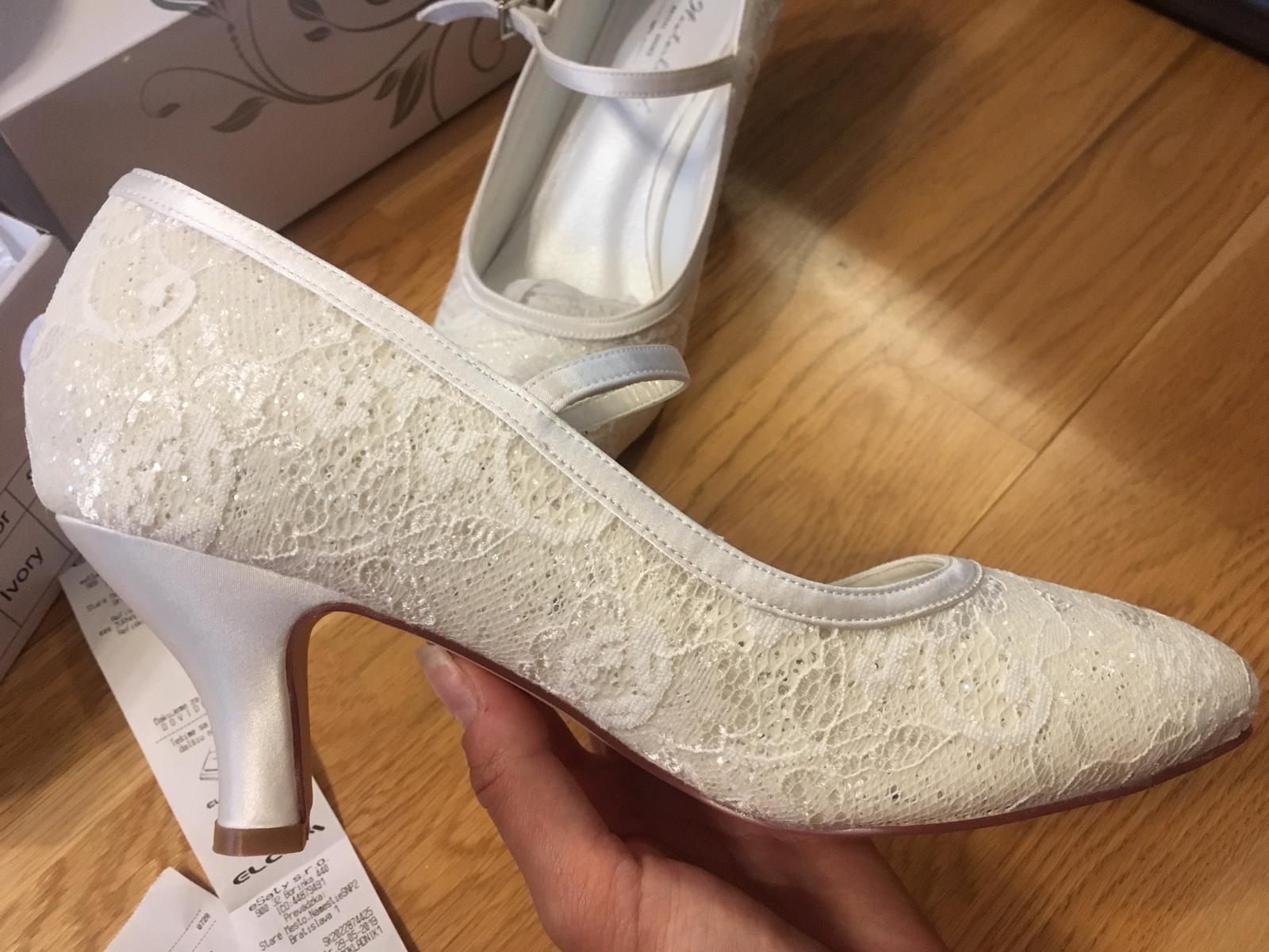 Tanečné svadobné topánky g. Westerleigh nepoužité - Obrázok č. 1