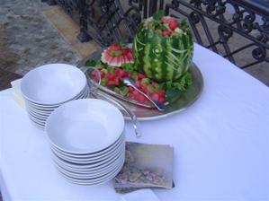 Melonove bowle
