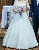 Svadobne šaty, Ivory,, 36
