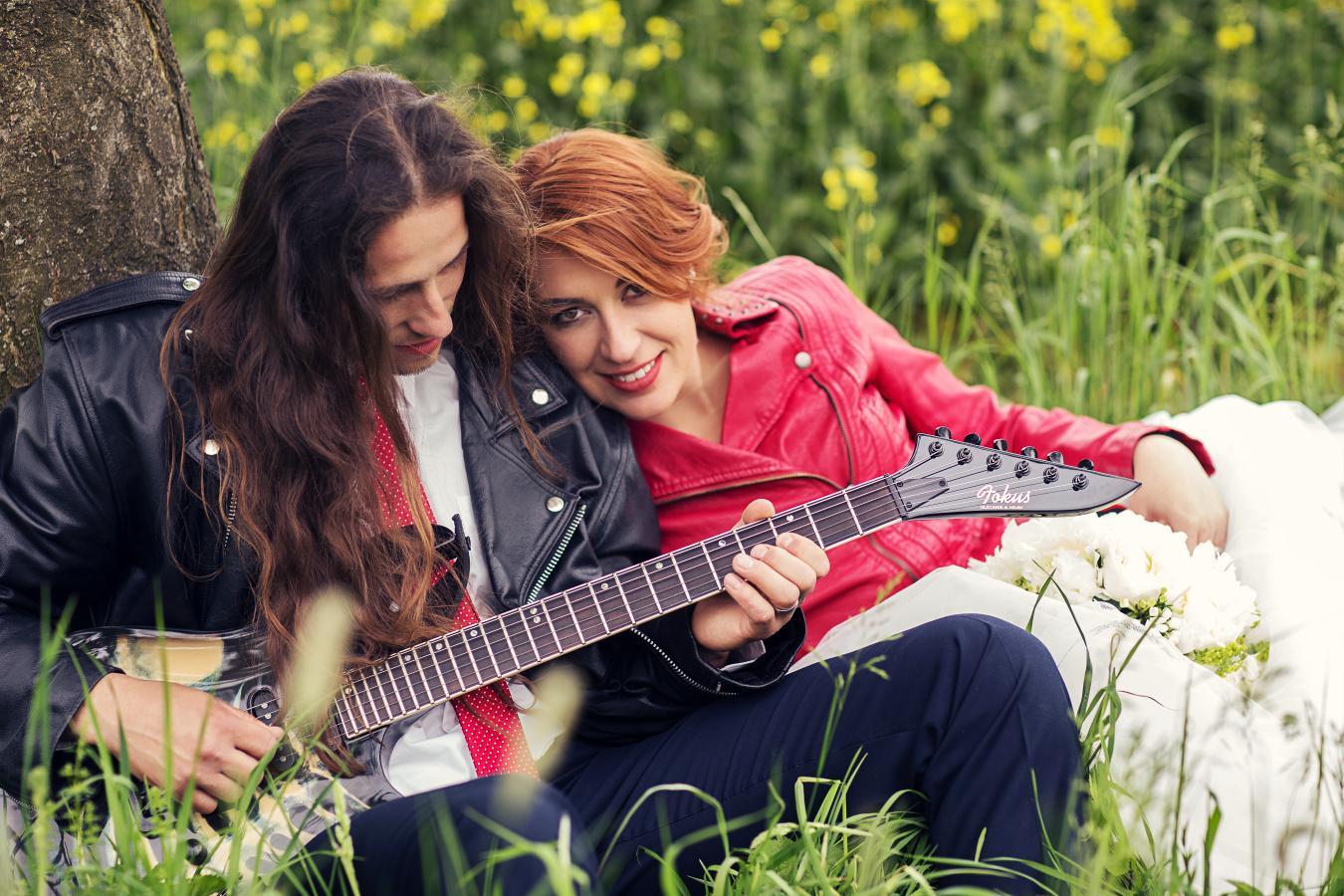 Michala{{_AND_}}David - Fotili jsme se oba v křivácích, jsme prostě duší rockeři ;-)