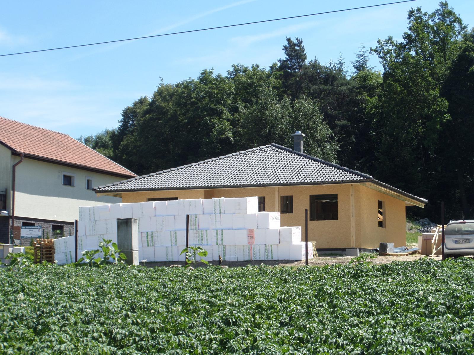 Bungalov Martina - 9.6.2014 - začína etapa holodom
