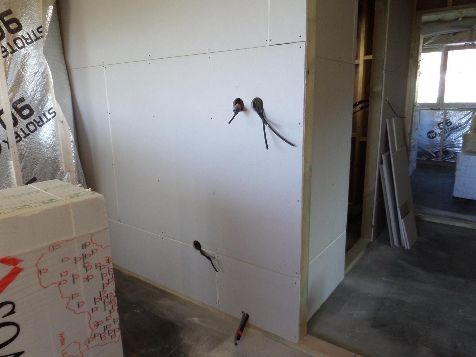 Bungalov Martina - rysujú sa miestnosti