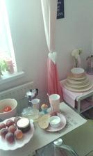 Ombree zavesy,ktore som kupila za dve eura a este som take naozaj nikde nevidela :-)