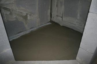 Urobeny spad do sprchoveho kuta