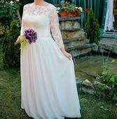 Svadobné šaty 42-44-46, 44