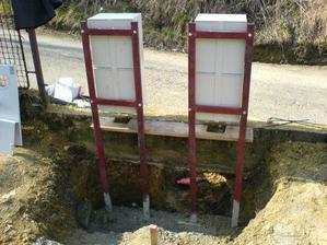 Osadené skrine na elektriku