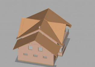 3D model nášho domu