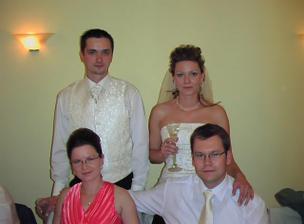môj starší brat s manželkou
