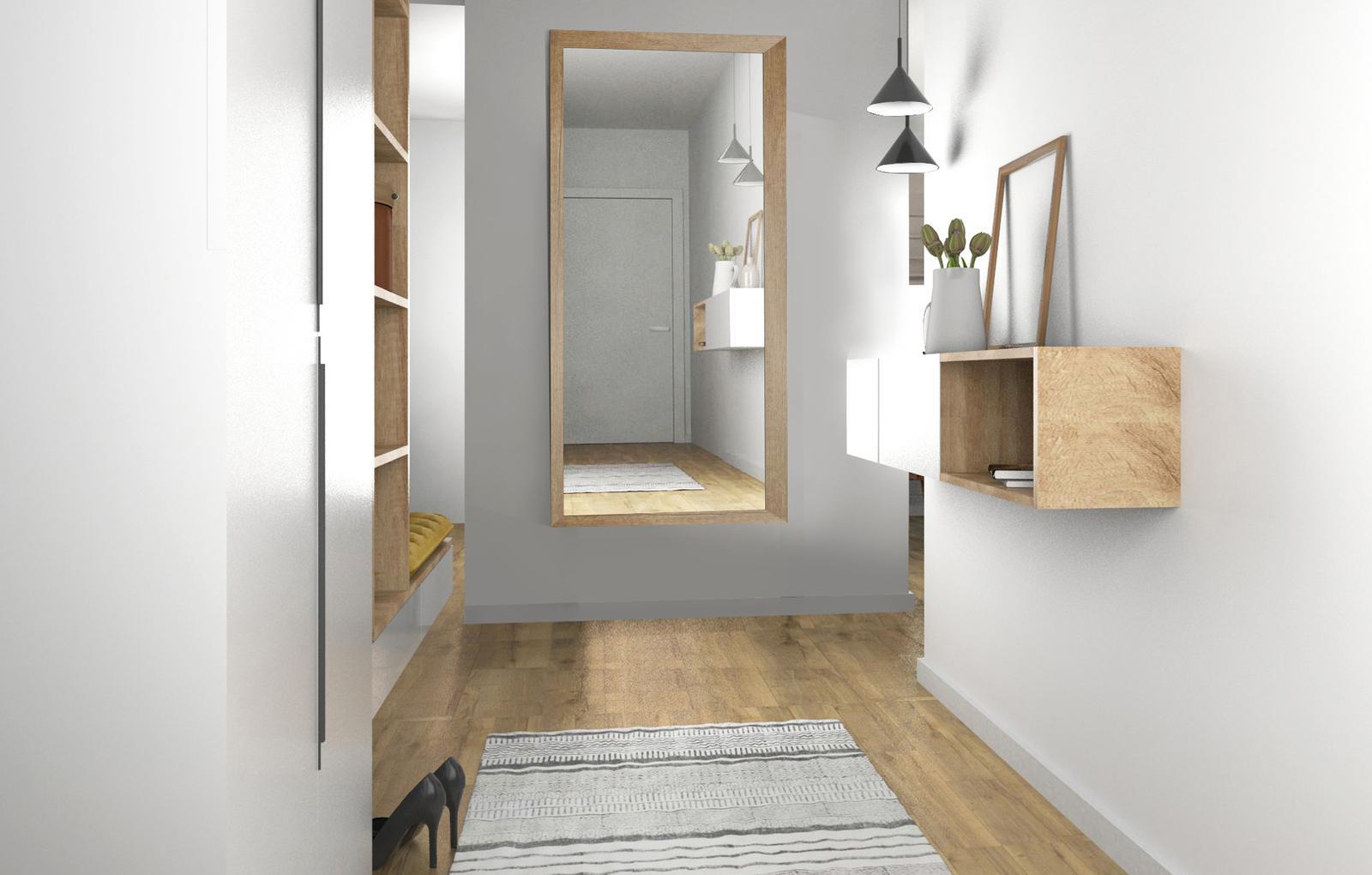 Vstupné haly, chodby - riešenie, návrhy a vizualizácie - Obrázok č. 3