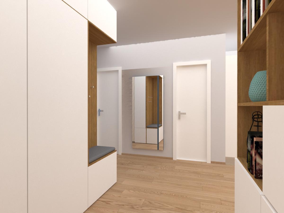 Vstupné haly, chodby - riešenie, návrhy a vizualizácie - Obrázok č. 5