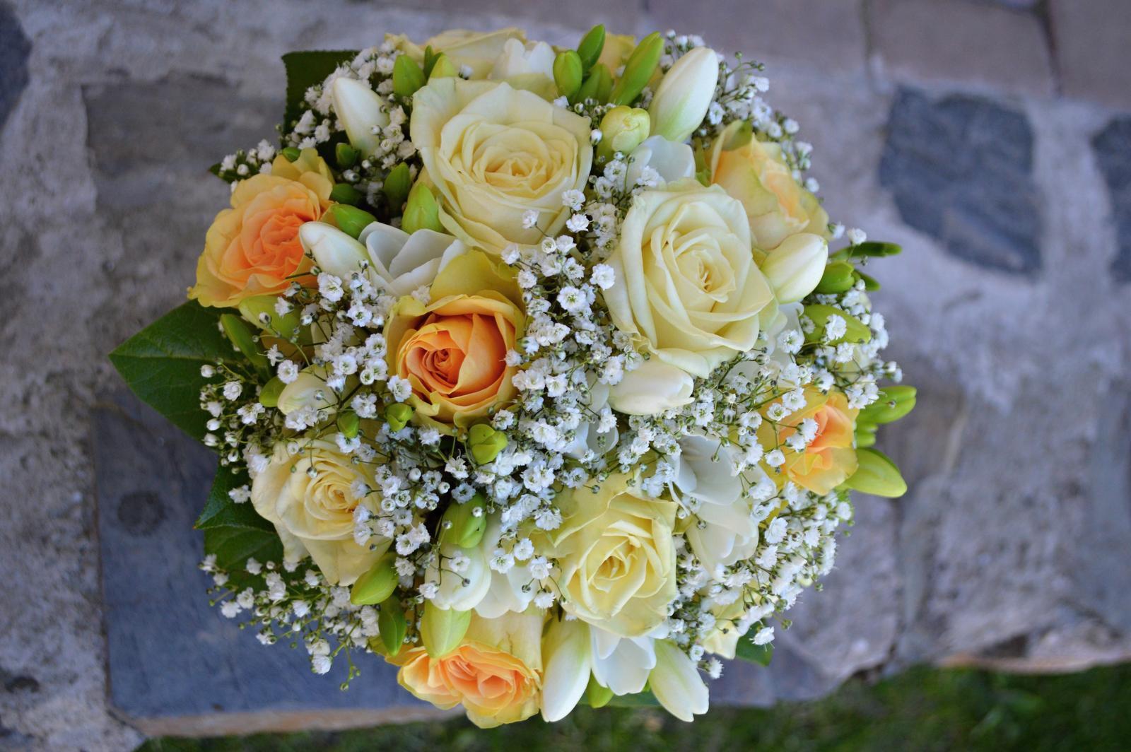 Šárka{{_AND_}}Honza - Svatební kytice