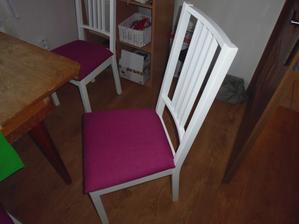 konečně nové židle