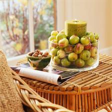 misa plna jablk - svietnik