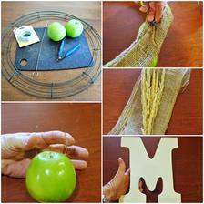 vencek zo zelenych jablk - navod