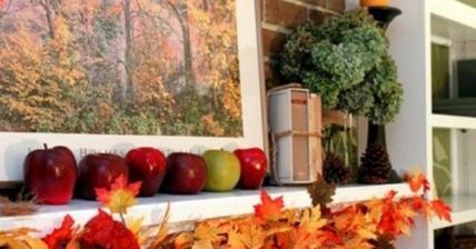 listova girlanda a jablcka - to je jesen