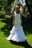 svatební šaty - mořská panna, 36