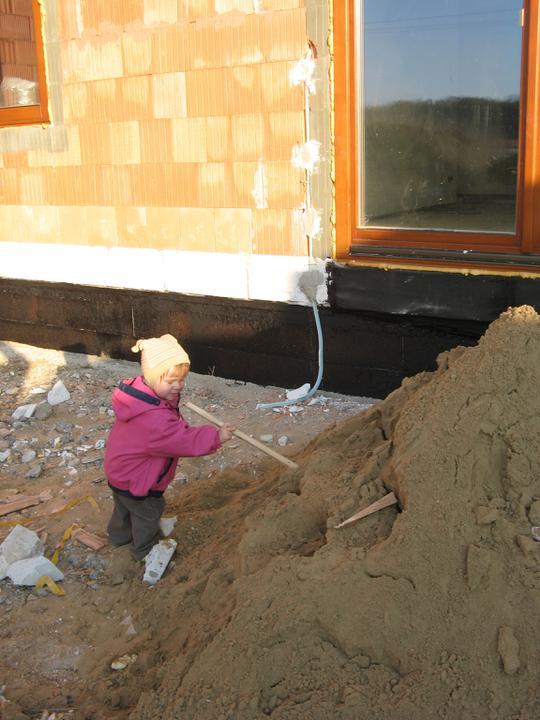 Pasivní dům - naše stodůlka - Izolujeme