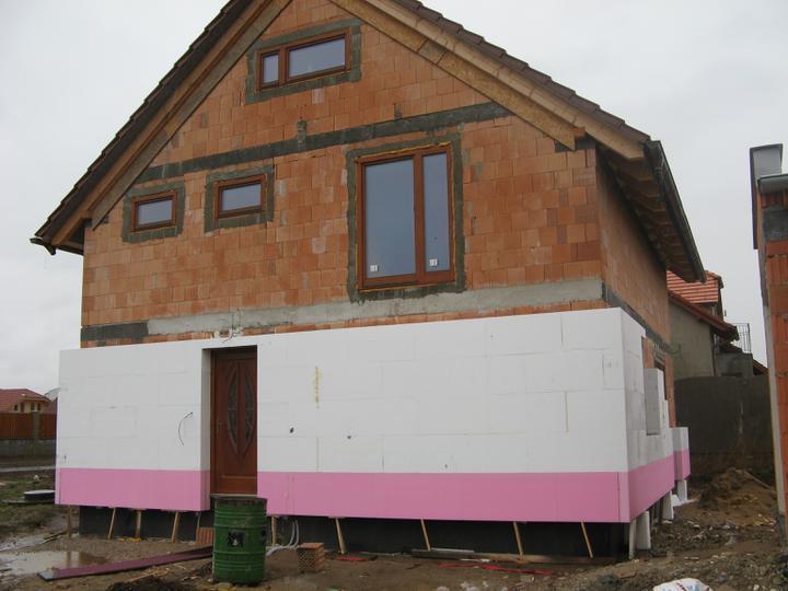 Pasivní dům - naše stodůlka - Zateplujeme - jaro 2010