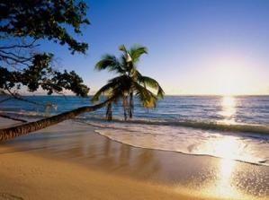 Maledivy...romantika při západu slunce