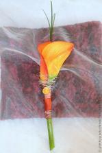 oranžová kala