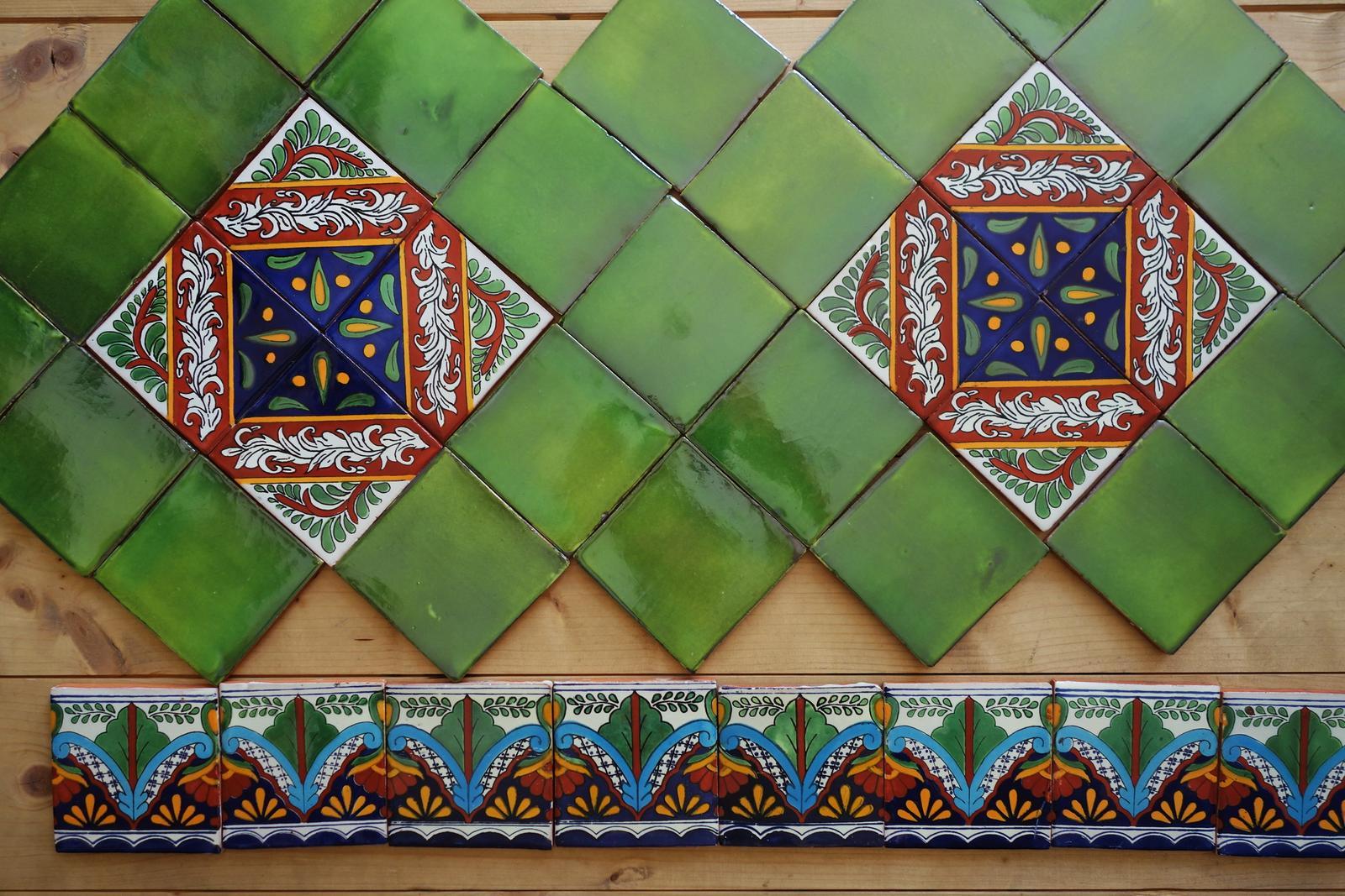 lagartija - Aj takto môže vyzerať dekor vo vašej kúpelni/kuchyni.