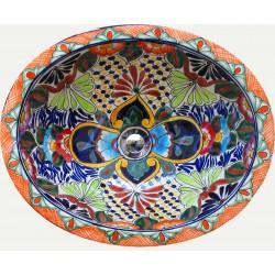 Ručne maľované umývadlá z Mexika - Obrázok č. 1