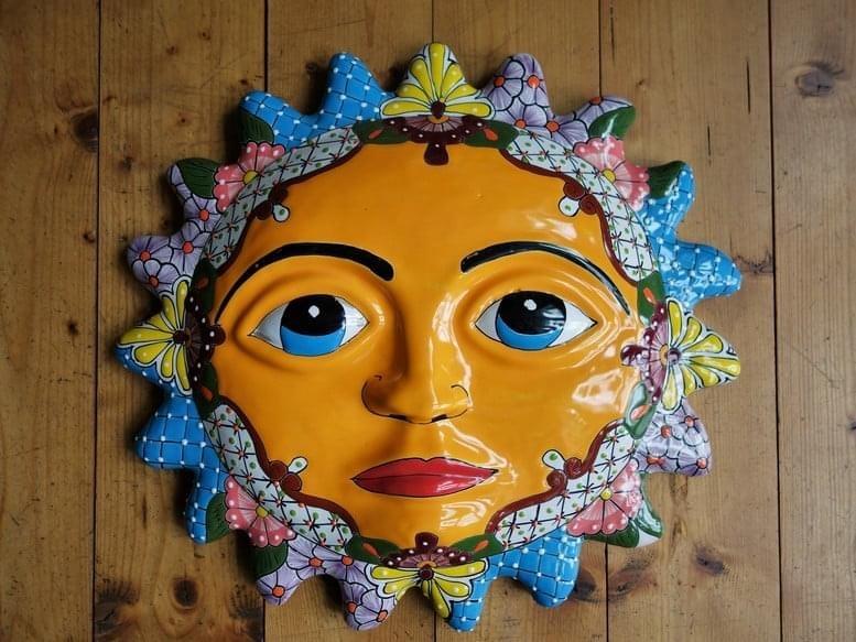 Keramické slnko - Obrázok č. 1