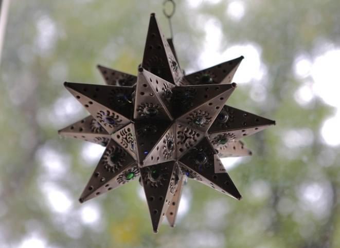 Plechová hviezda - Obrázok č. 1