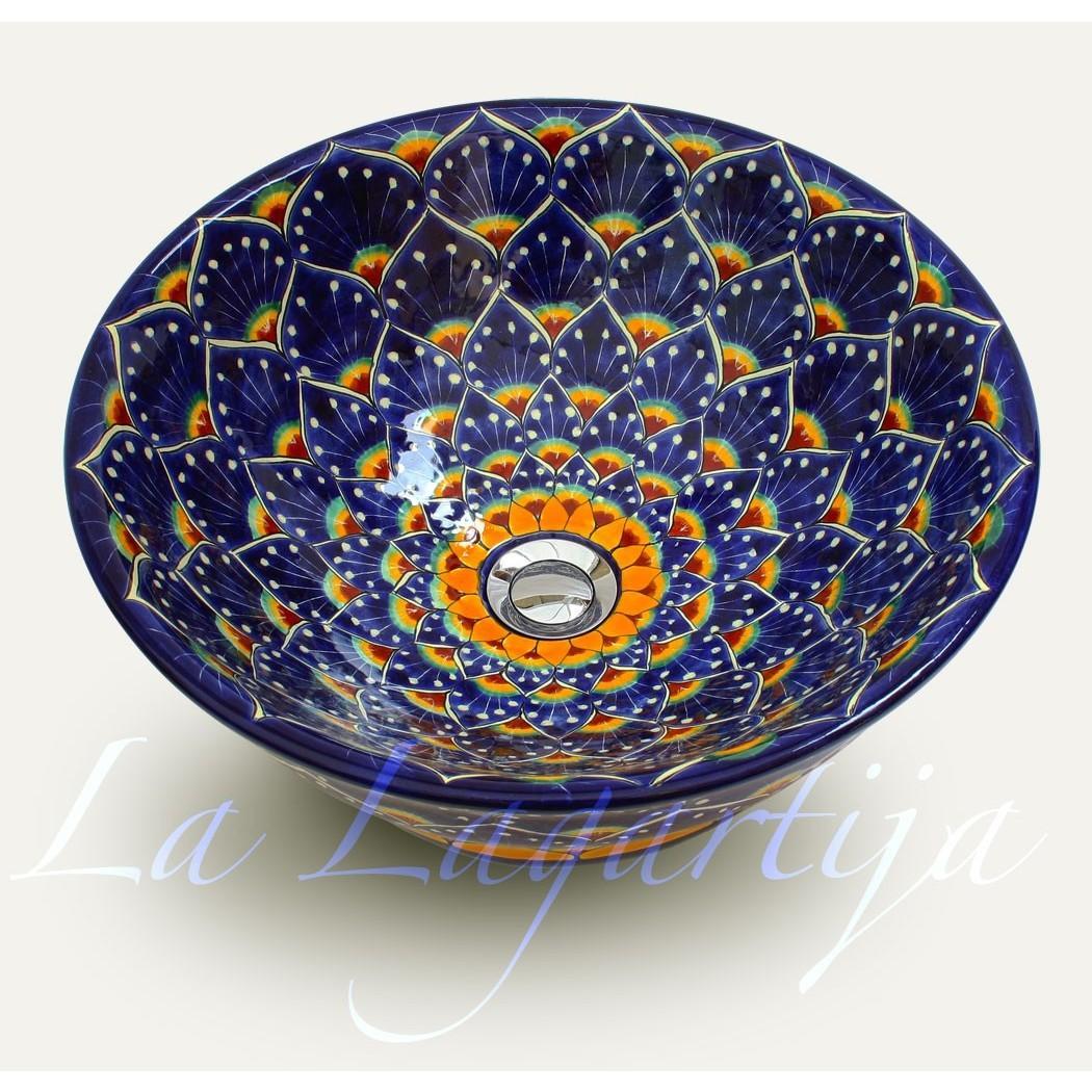 Umývadlo na dosku Pavoreal Azul - Obrázok č. 1