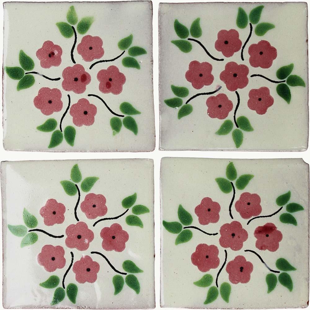 """Keramický obklad """"Bouquet Rosa"""" - Obrázok č. 1"""