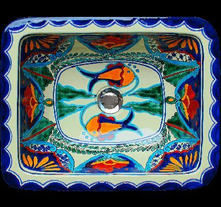 "Zápustné hraneté umývadlo ""Acapulco"" - Obrázok č. 1"