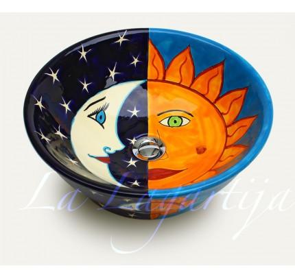 Umývadlo na dosku Eclipse Turqueza - Obrázok č. 1