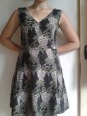 Letné šaty s veselým vzorom, S
