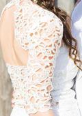 Originální svatební šaty s italskou krajkou 36, 38
