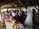 Anglicko-Ukrajinská svadba po východňarsky.