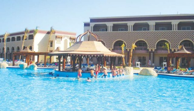 Ivetka a Lukáš - tak tu som plávala...nádhera, ten istý hotel