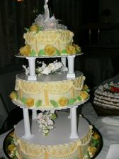 Moja tortička. Chutila výborne.